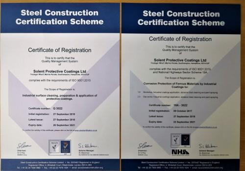 Latest Certification